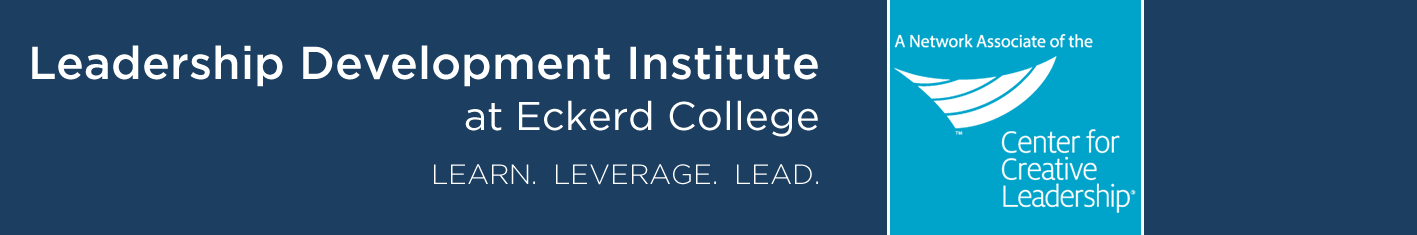 Leadership Development Institute at Eckerd College (LDI) & Center for Creative Leadership (CCL)