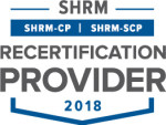 SHRM Recertification Provider - SHRM CP/SCP Seal 2018