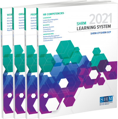 SHRM 2021 Learning System Workbooks